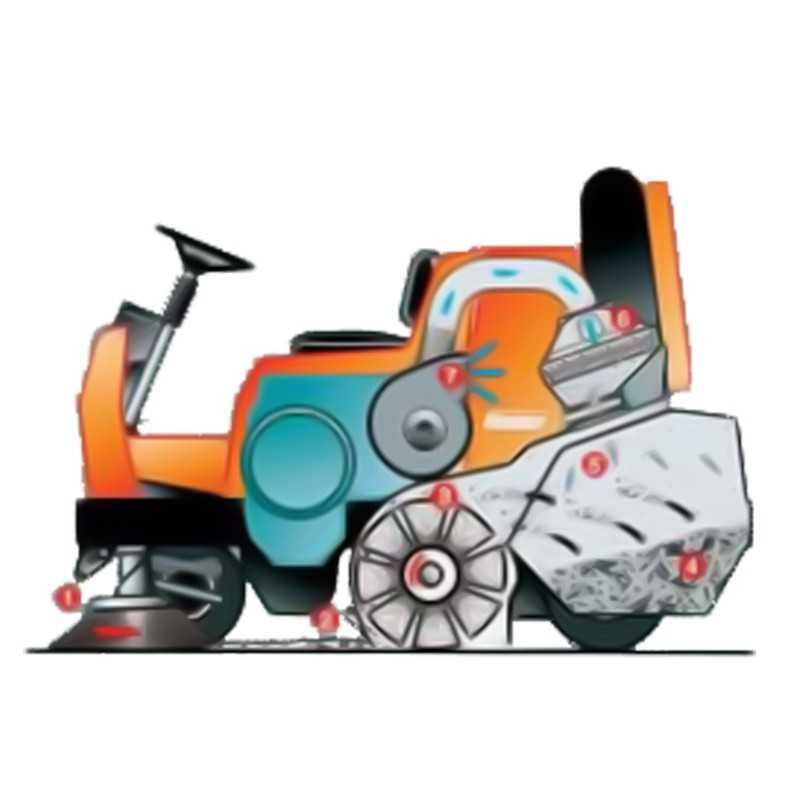 Barredora SweepMaster P1500